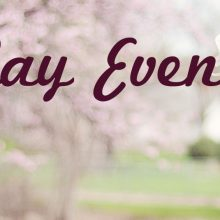 May Events Slider